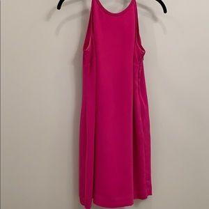 Pink/ purple silk dress!